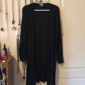 Maurices brand duster cardigan // Size XL